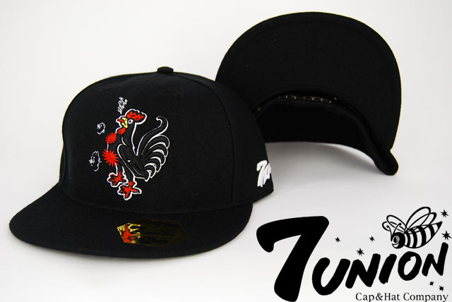 7union_chiken_cap_black1