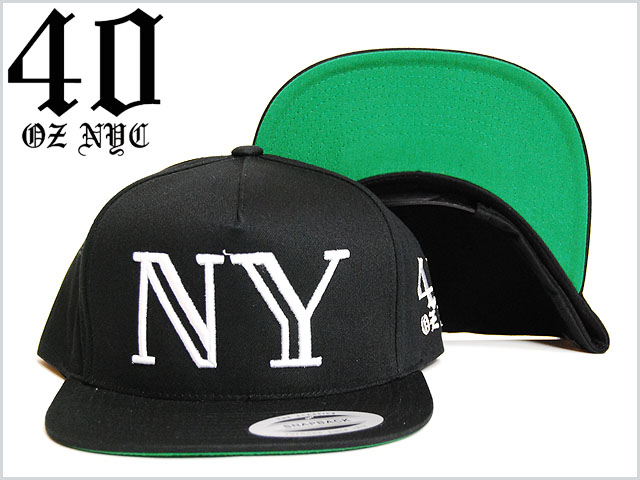 40oz_nyc_nylogo_snap_back_cap_black