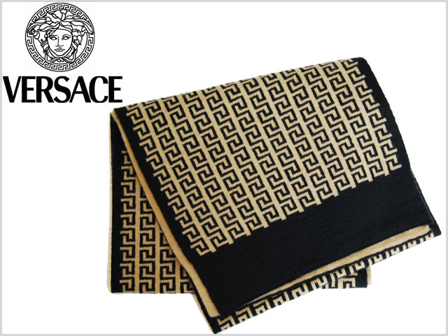 Versace_scarf_white_brown_1