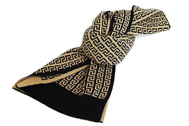 Versace_scarf_white_brown_4