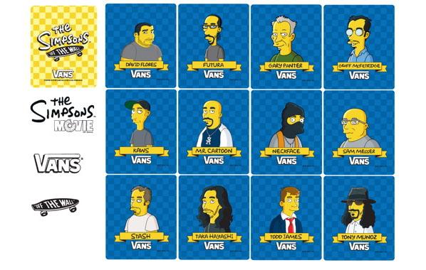 Simpsonsvans